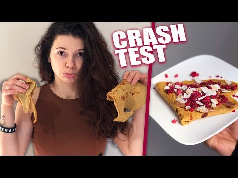 CRASH TEST : RECETTE DE CRÊPES !