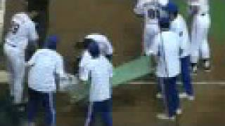 阪神vs巨人戦 事故:Baseball game. The accident was happened