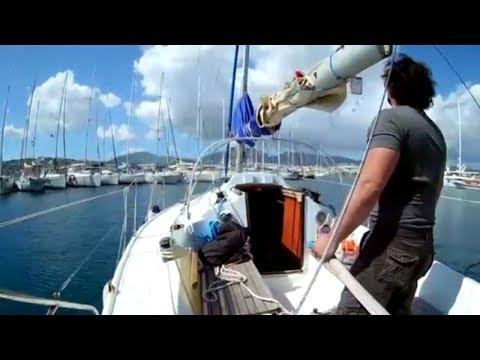 Yeni Flok Yelken ve Tek kişi Tramola Çalışması