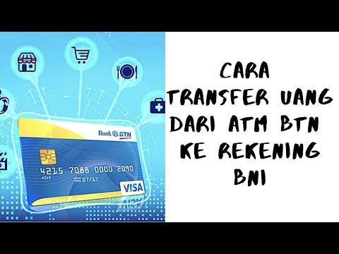 Cara Transfer dari ATM BTN ke Rekening BNI