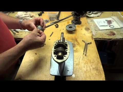 How to remove prop shaft and water pump seals - 6hp Evinrude/Johnson