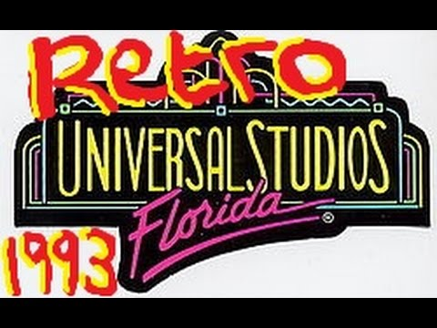 - Retro Universal Studios 1993 - Kong frontation, Ghostbusters, Hanna Barbera, Miss Marple