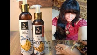 Why All YouTubers Are Talking About Good Vibes Banana Shine Shampoo Is It Good Or Bad?Honest Review
