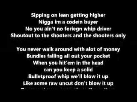 Future- Shit [Lyrics] Explicit