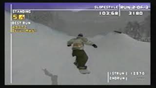 (MULTI) ESPN Winter X-Games Snowboarding 2002 - Gameplay Preview