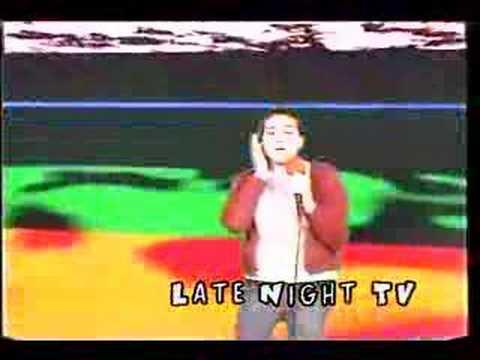 Amazingly terrible karaoke performance