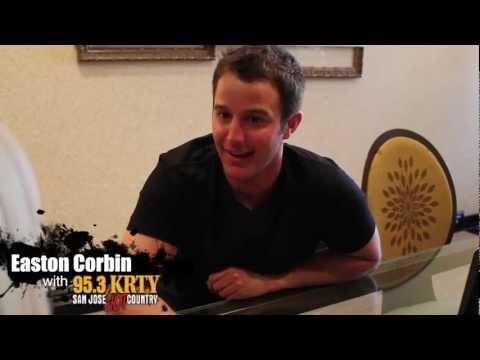 Easton Corbin with 95.3 KRTY