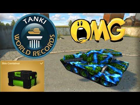Tanki Online World Record! Finishing 1000 Stars + Skin Container! танки Онлайн