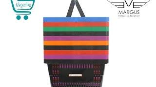 Покупательские корзины для супермаркета 22 л - Обзор PLAST-22