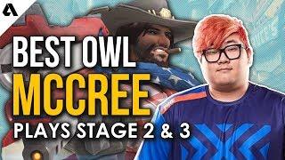 Best Overwatch League McCree Plays ft Pine Carpe Fleta | OWL Stage 2 & 3