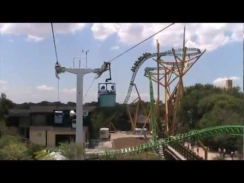 Skyride At Busch Gardens Tampa 2011 Youtube