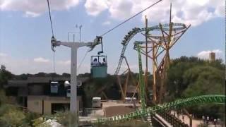 Skyride at Busch Gardens Tampa 2011