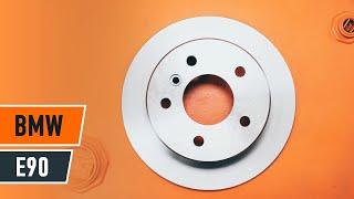 Substituição Jogo de pastilhas para travão de disco BMW 3 SERIES: manual técnico