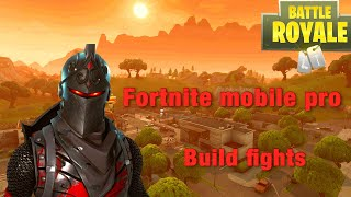 Fortnite Mobile Pro Build Fights without aim assist | Assassin