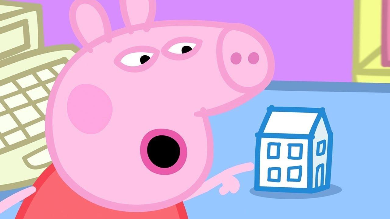 Peppa Pig Italiano 🧱 Una Nuova Casa 🚧 Collezione Italiano - Cartoni Animati