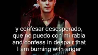 Alejandro Sanz - Si hay dios (subs & translation)