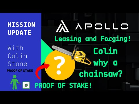 Mission Update #28 - Leasing Apollo and Crypto POS