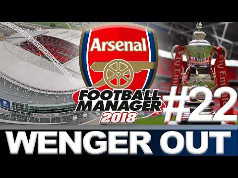 ARSENAL | PART 22 | FA CUP FINAL | FOOTBALL MANAGER 2018