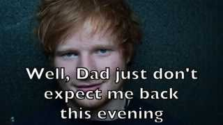 Ed Sheeran - Runaway Karaoke Cover Backing Track + Lyrics Acoustic Instrumental