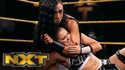 Tegan Nox vs Indi Hartwell WWE NXT Aug 5 2020