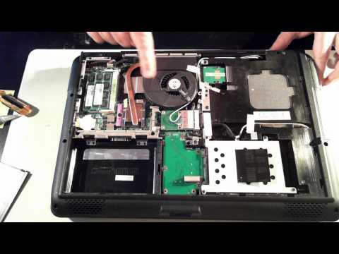 Asus K50I Teardown / Opening / Disassembly / Takeapart