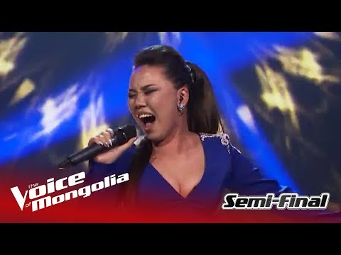 """Bolormaa - """"Girl on fire"""" 