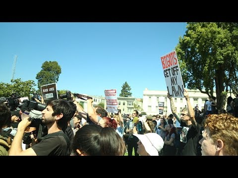 Thwarted Alt Right Rally Aug 27 2017 Berkeley