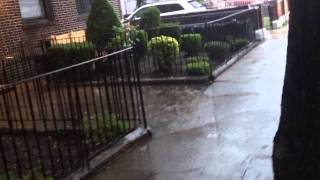 Severe Thunderstorms in NYC July 2nd-3rd, 2014! Severe Thunderstorm warning! Tornado watch