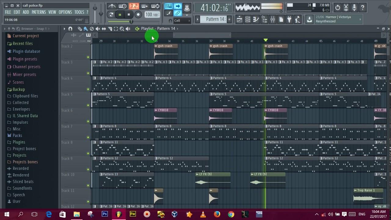 Download Orezi   Call The Police instrumental ZulqzBeatz FL Studio Remake + FLP