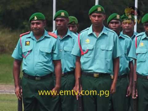 2016 First Batch of PNG Defence Force Recruits Pass Out
