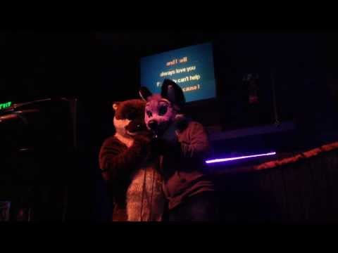 Fursuit Karaoke at The Cuff