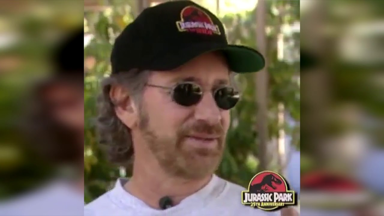 bd486f3ee Steven Spielberg on Jurassic Park The Ride at Universal Studios ...