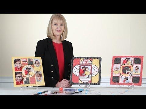 Wildflower Recipe Template Introduction   Creative Memories Australia