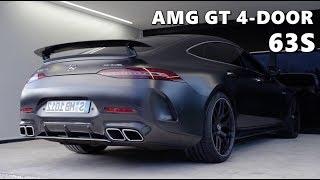 Mercedes-AMG GT 4-Door (2019) Walkaround, Driving, Sound