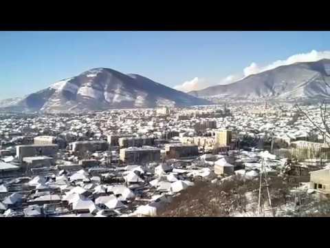 AZERBAIJAN - Shaki City From The High Point