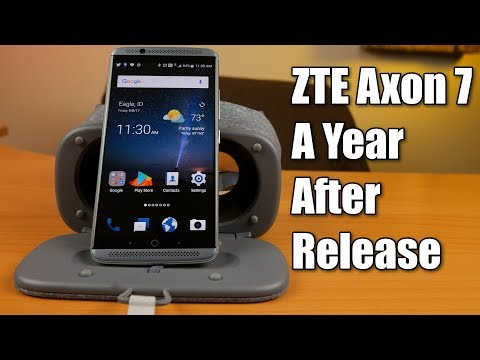 ZTE Axon 7 More Than a Year After Release