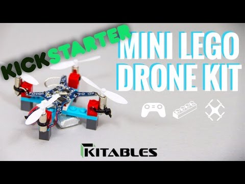 Cheap-to-buy, easy-to-build mini Lego drone is the stuff of childhood dreams