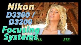 Nikon D3300 / D3200 Focus Square Tutorial | How to Focus Training Video