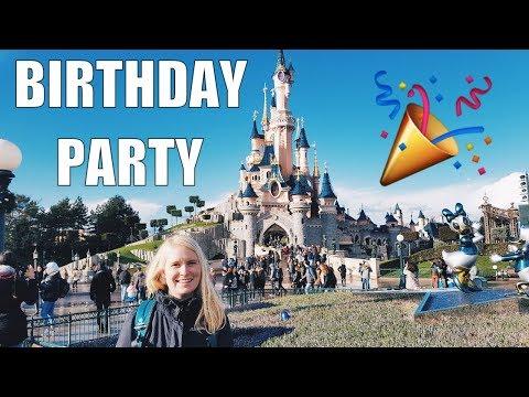 Massive Birthday Party At Disneyland Paris | Paris, France travel vlog