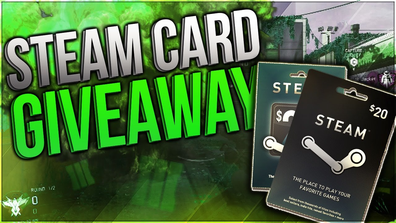 Steam card giveaway free