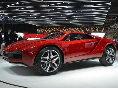 2013 Italdesign Parcour Concept First Look At Geneva 2013 Youtube