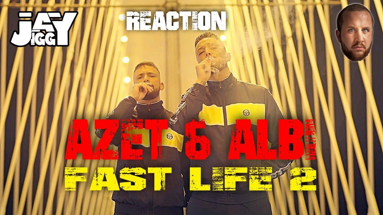 ich feier die Hook! AZET & ALBI - FAST LIFE 2 I REACTION