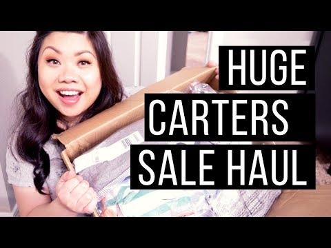HUGE Carter's Baby Boy Haul