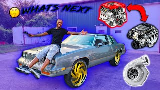 WHATS NEXT STARTING BACK ON MY 85 442 CUTLASS BUILD 🔥