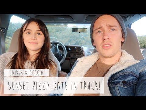 SUNSET PIZZA DATE?! | ACACIA & JAIRUS