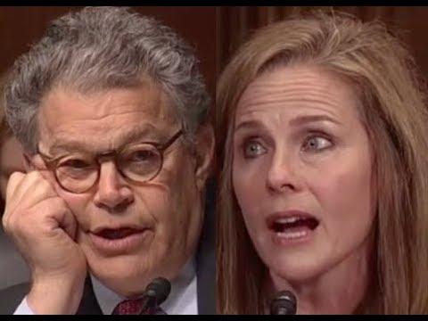 """""""I QUESTION YOUR JUDGEMENT!!!"""" Al Franken GETS PISSED OFF & DESTROYS Trump Judicial Nominee"""