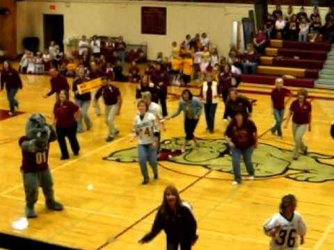 Choteau School Staff Dance