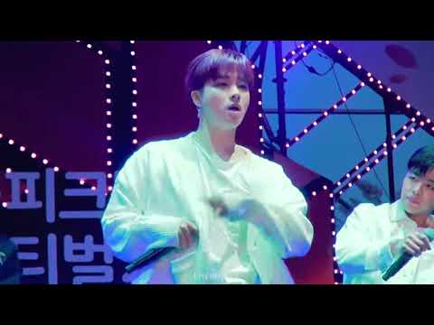 iKON 아이콘 Fancam 180407 벚꽃 피크닉 페스티벌 사랑을 했다Love Scenario 멤버별 직캠 Full ver  COLOR REGRADED   YouTube