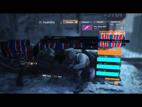 The Division: First Wave M1A Drop