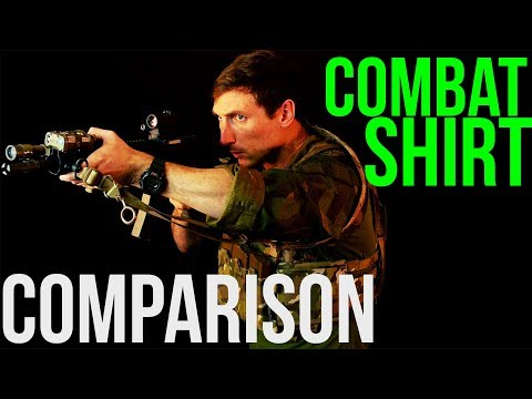Combat Shirt Comparison 2019 (Arc'Teryx, Crye, Patagonia, First Spear, Beyond Clothing)